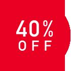 40%OFF